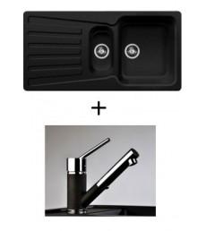 SET - dřez Blanco Nova 6 S s baterií Bruno s vytahovací sprchou, dostupný v 6 barvách, přeprava zdarma