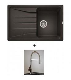 SET - dřez Blanco Sona 45 S s baterií Master se sprchou, dostupný v 7 barvách, přeprava zdarma