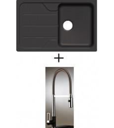 SET - dřez Schock Formhaus D-100S s baterií Master se sprchou, dostupný ve 3 barvách, přeprava zdarma