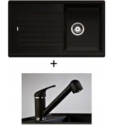 SET - dřez Blanco Zia 45 SL s baterií Altea s vytahovací sprchou, dostupný v 8 barvách, přeprava zdarma