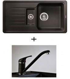 SET - dřez Blanco Favos 6 S s baterií Luna, dostupný v 6 barvách, přeprava zdarma