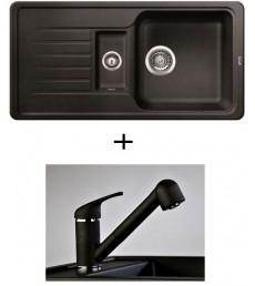 SET - dřez Blanco Favos 6 S s baterií Altea, dostupný v 6 barvách, přeprava zdarma