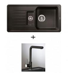 SET - dřez Blanco Favos 6 S s baterií Jaguar, dostupný v 6 barvách, přeprava zdarma